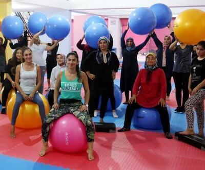Kadınlardan sağlık için spor