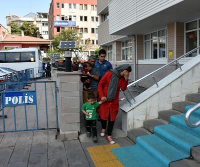 Göçmenler İstanbul yerine  Kırıkkale'ye bırakıldı