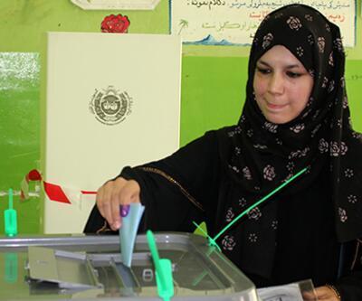 Afganistan'da oy verme işlemi sona erdi