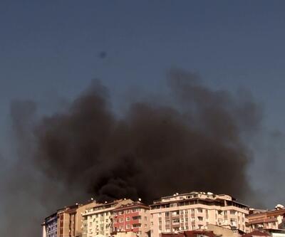 Şişli'de apartmanda yangın paniği