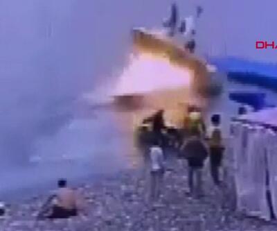 Rusya'da sürat teknesi patladı