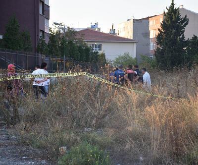 Güngören'de okulun yanındaki boş arazide ceset bulundu