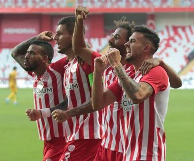 Antalyaspor'da galibiyet sevinci