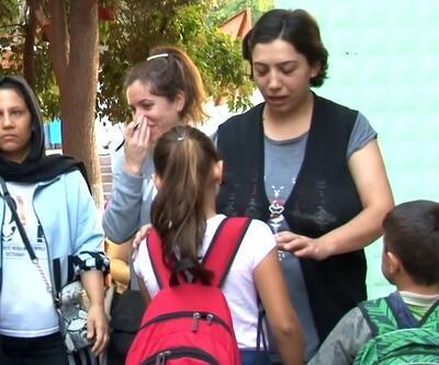 Hasarlı okulların öğrencileri yeni okullarında ders başı yaptı