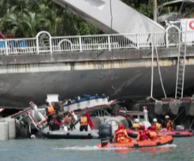 Tayvan'da köprü çöktü: En az 10 yaralı