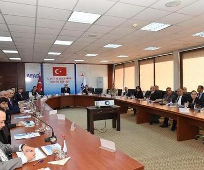 Kilis'te, afetlere karşı hazırlık toplantısı yapıldı