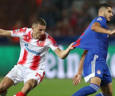 Yassine Benzia Olympiakos'u yaktı!
