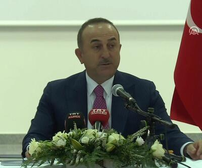 Son dakika... Bakan Çavuşoğlu Almanya'da konuştu