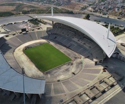 Atatürk Olimpiyat Stadı Şampiyonlar Ligi finaline hazırlanıyor