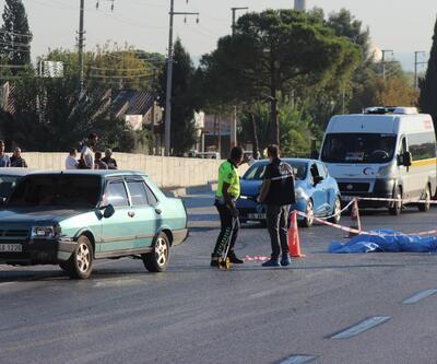 Yaşlı çifti kaza ayırdı
