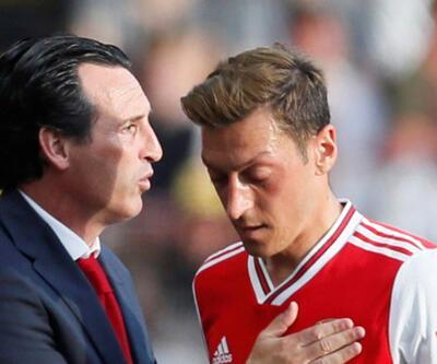 Unai Emery'den Mesut Özil açıklaması