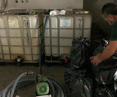 İstanbul'da 5 bin litre etil alkole el konuldu