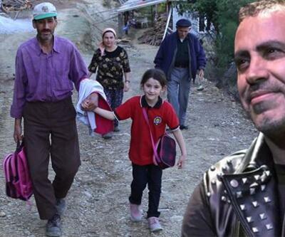 Kızı için yol açan babaya yardım müjdesi