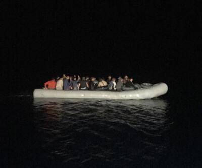 Datça'da 28 kaçak göçmen yakalandı