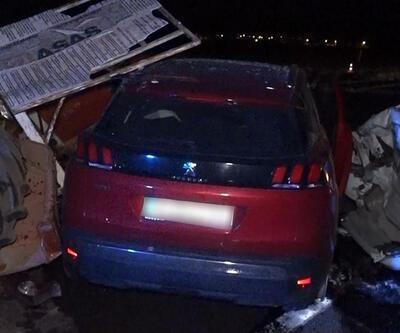 Kırıkkale'de trafik kazası: 1 ölü, 1 yaralı