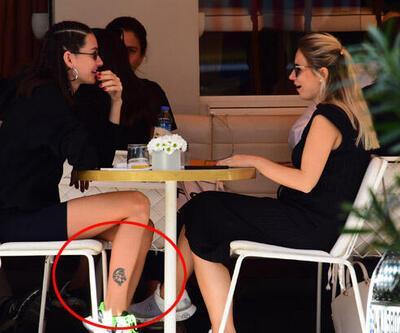 Yasemin Özilhan'ın dövmesi dikkat çekti