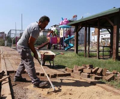 Kepez'in mevcut parkları yenileniyor