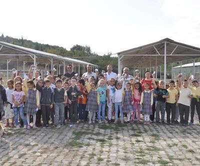 Malkara'da öğrencilerden hayvan barınağına ziyaret