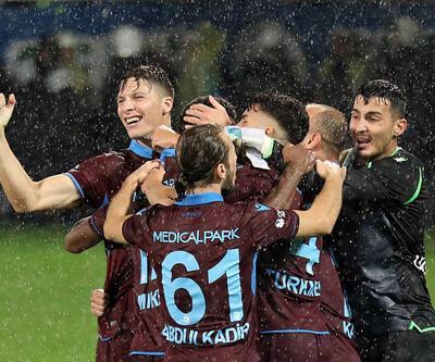 Trabzonspor galibiyeti 90'da aldı