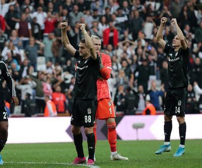 Beşiktaş'tan Dolmabahçe'de 600. galibiyet