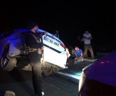 Diyarbakır'da trafik kazası: 2 ölü, 4 yaralı