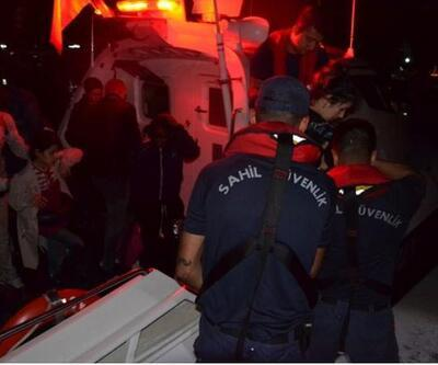 Dikili açıklarında 84 göçmen yakalandı