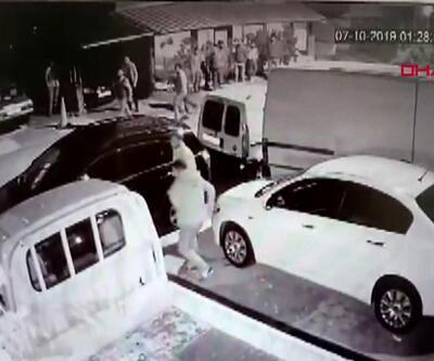 Maltepe'deki silahlı çatışma kamerada