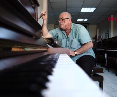 Yarım asırdır tarihi piyanolara hayat veriyor