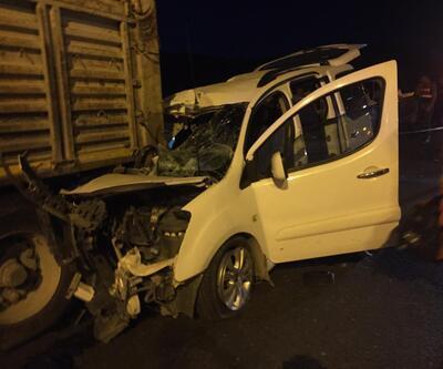 Mardin'de feci kaza: 3 ölü, 3 yaralı