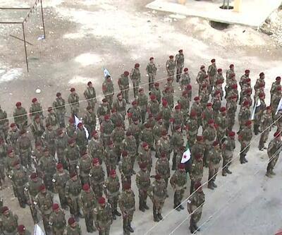Suriye Milli Ordusu tatbikat yaptı