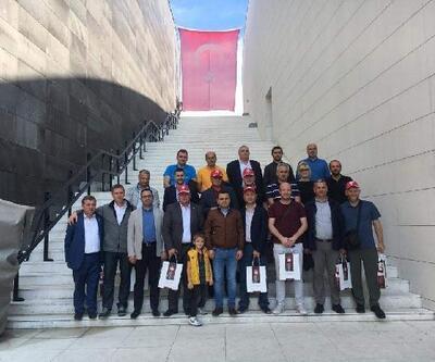 Bosna Hersek heyeti, Tarihi Alanı ziyaret etti