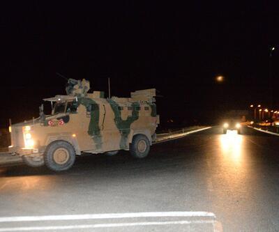 Suriye sınırına askeri sevkiyat sürüyor! Hareketlilik devam ediyor