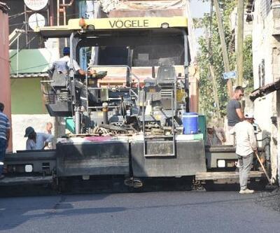 Ceyhan Belediyesi asfalt çalışmalarını sürdürüyor