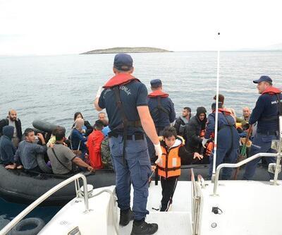 İzmir'de 239 kaçak göçmen ve 4 göçmen kaçakçısı şüphelisi yakalandı