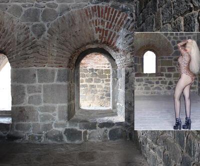 Aziziye Tabyası'nda fotoğraf çektiren kadına gözaltı