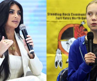 Kim Kardashian, genç iklim aktivisti Greta Thunberg'i yemeğe davet etti
