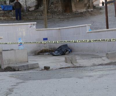 Mahalle çeşmesi önünde ölü bulundu