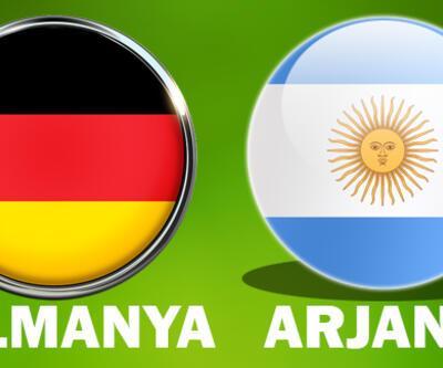 Almanya Arjantin maçı hangi kanalda, saat kaçta izlenecek?