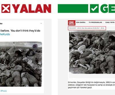 Terör örgütü yanlılarının manipülasyonunu CNN TÜRK bozdu