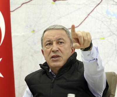 Bakan Akar'dan Barış Pınarı Harekatı değerlendirmesi