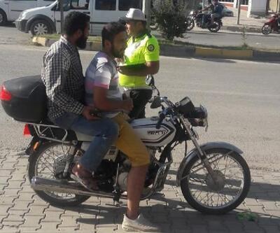 Motosikletlere ceza yağdı