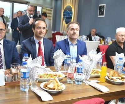 Başkan Oral'dan din görevlilerine yemek