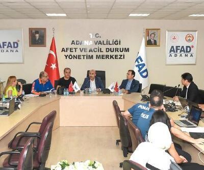 Vali Demirtaş, Ulusal Tamp Tatbikatını yönetim merkezinde takip etti