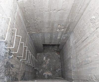 Fırat'ın doğusunda terör örgütü YPG/PKK'nın kazdığı tünel ortaya çıkarıldı
