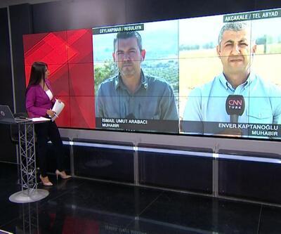 Barış Pınarı Harekatı 3. gününde! CNN TÜRK sınır hattında