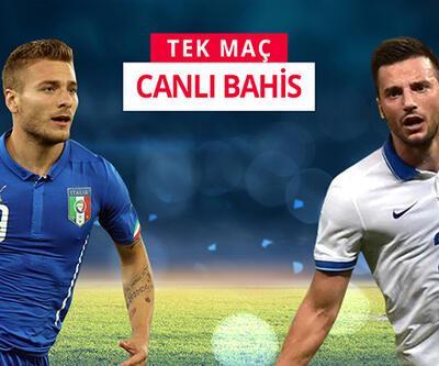 İtalya-Yunanistan maçına Misli.com'da CANLI OYNA!