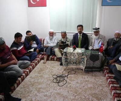 Kayseri'de, Doğu Türkistanlılar'dan Barış Pınarı Harekatına destek