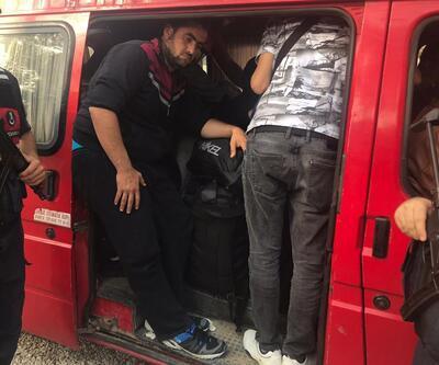 Marmaris'te 52 düzensiz göçmen yakalandı