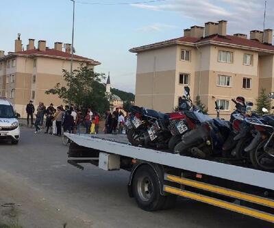 Keşan'da polisten motosiklet denetimi