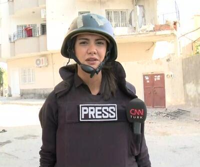CNN TÜRK 8 sivilin şehit düştüğü  Nusaybin'deki sokağa gitti